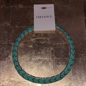 NWT Forever 21 Turquoise necklace